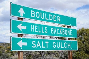 Hell's Backbone first sign